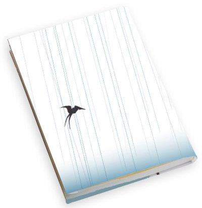裏具 ブックカバー2枚セット/雨ツバメ