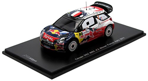 Citroen DS3 WRC No. 2 Winner French Rally 2011