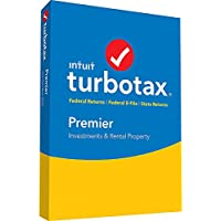 TurboTax Premier 2016 for Windows/Mac (1 User) [Boxed]