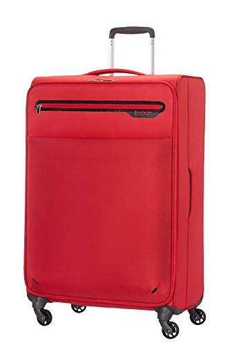 American Tourister Lightway Super Light Spinner 74/27, 4 Ruote, 92.0 Litri, Lava Red