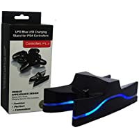 Bonzeal UFO Blue Led PS4 Game Controller Charging Stand With USB
