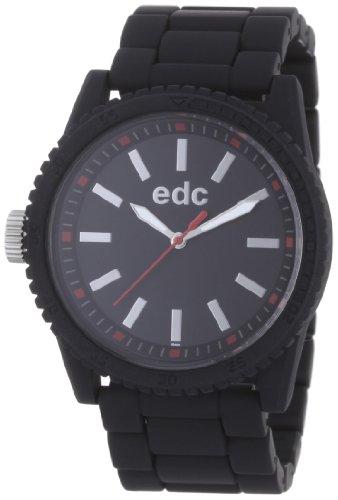 Esprit Esprit A.Ee100482001 - Reloj de mujer de cuarzo, correa de caucho color negro
