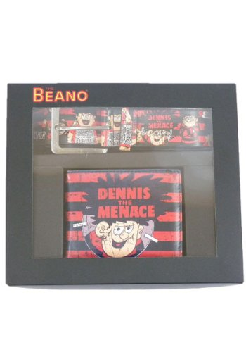 THE BEANO WALLET AND BELT BOXED SET