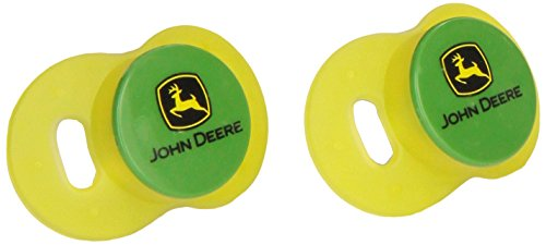 The First Years Newborn Pacifier, John Deere, 2-Count