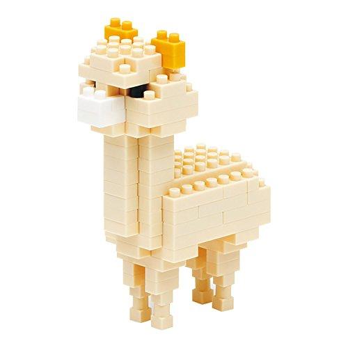 Kawada Kawada Nanoblock Alpaca Cream () Building Kit - 1