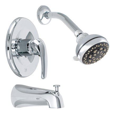Symmons 3520-B Dia Single Pressure Balancing Valve with Blade Handle in Chrome