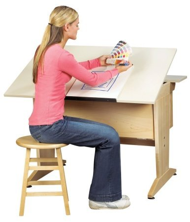 CAD/DRAFTING COMB. TABLE W/ EXTENSI