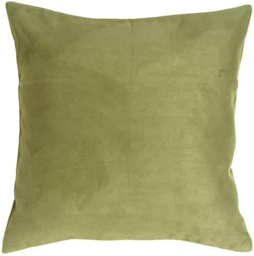 Get The Best Price For Suede Throw Pillows Pillow Decor - 19x19 Royal Suede Sage Green ...
