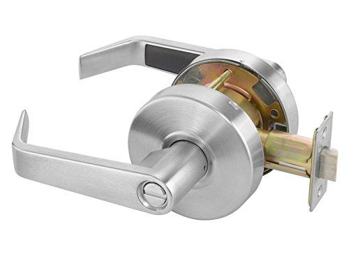 Yale AU4602LN x 626 Cylindrical Lockset, Grade 2, Privacy Function, 2 3/4