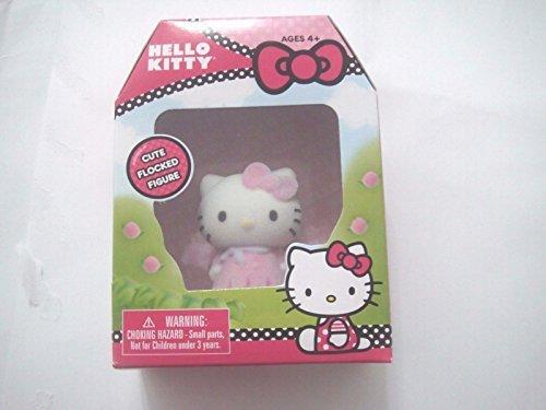 Hello Kitty Cute Flocked Figure - 1