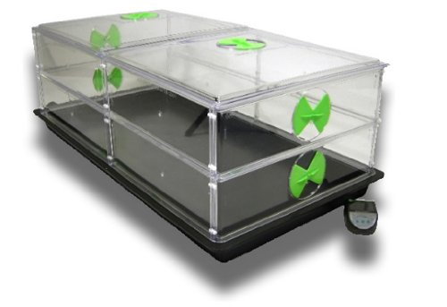 Award Winning Vitopod Propagator - HEATED - Double Length, Double Layer