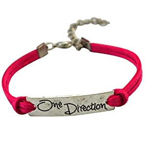 Queen's&king's Alloy Charms One Direction 1D Bracelet from Queen's&king's