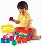 Fisher-Price Brilliant Basics Baby's First Blocks CustomerPackageType: Frustration-Free Packaging (Baby/Babe/Infant - Little ones)