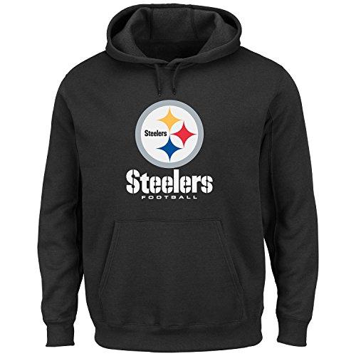 Pittsburgh Steelers Black Critical Victory VIII (8) Sweatshirt Hoody at SteelerMania