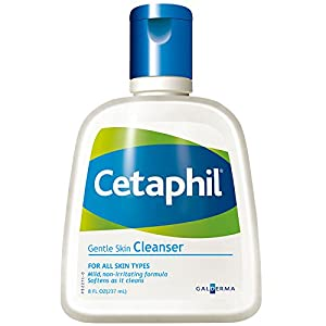 Cetaphil Gentle Skin Cleanser, 8.0 -Ounce Bottles (Pack of 3)