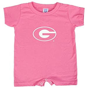 Grambling State Bubble Gum Pink Infant Romper 'Grambling G' - Small