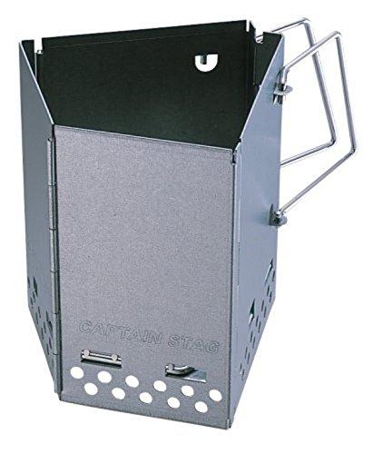 キャプテンスタッグ(CAPTAIN STAG) 超簡単 ALL IN ONE 焚火セット 焚火台 UZ-13056