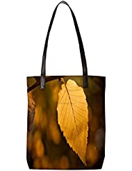 Snoogg Roots Of Tress Womens Digitally Printed Utility Tote Bag Handbag Made Of Poly Canvas With Leather Handle