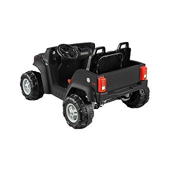 Kid Motorz Hummer H2 Two Seater 12v Black Epic Kids Toys