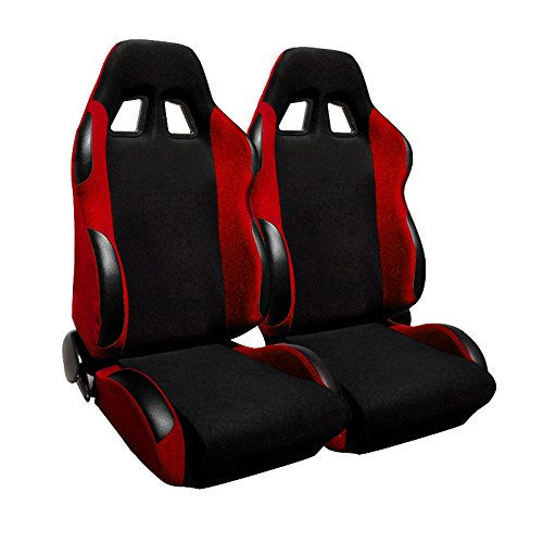 Spec-D Tuning RS-505-2 Racing Seat (Racing Seats For 98 Dodge Neon compare prices)