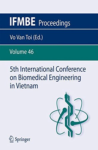5Th International Conference On Biomedical Engineering In Vietnam (Ifmbe Proceedings)