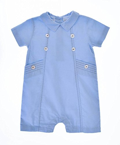 Carriage Boutique Baby Boy's Button One Piece Dressy