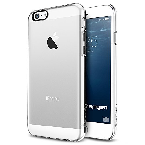 iPhone 6 ケース, Spigen® Apple iPhone 4.7 (2014) シン ・フィット The New iPhone アイフォン6 (国内正規品) (クリスタル・クリア SGP10939)