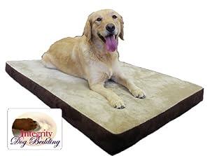 "Large 46"" X 32"" Orthopedic Memory Foam Dog Pet Bed"