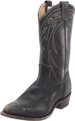 FRYE Women's Billy Pull-On Boot,Black Stone Wash,5.5 M US