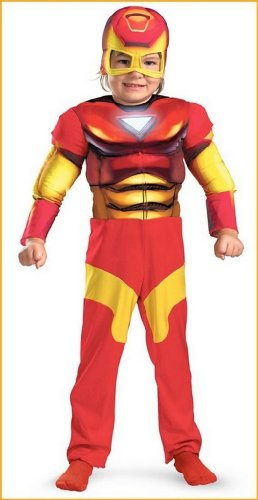 Iron Man Costumes Toddler's Iron Man Super Hero Squad