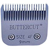 Geib Buttercut Stainless Steel Dog Clipper Blade, Size-4F, 3/8-Inch Cut Length