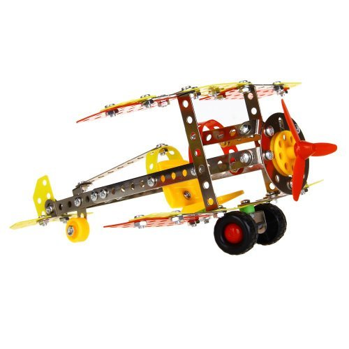 Dimart DIY Model Airplane Assembly Metal Kit Kid Educational Gift - 1