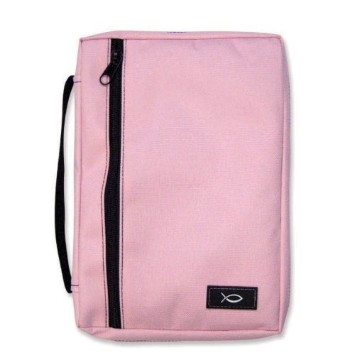 Pink Extra Large Canvas Bible Cover Gregg 4024373 (Gregg Gift Company compare prices)