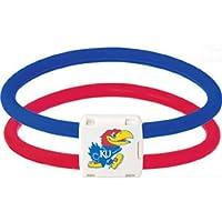 TrionZ Trion Z New NCAA Bracelet Lite Kansas Jayhawks Large L