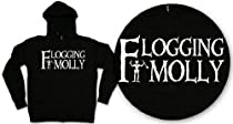 Flogging Molly - Sabbath Zip Hoodie In Black