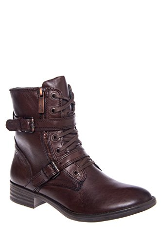 Trapani 13301 Double Strap Low Heel Boot