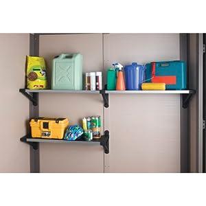 Amazon Com Keter Tri Panel Accessory Shelf Kit Storage