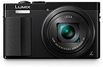 Panasonic DMC-ZS50K LUMIX 30X Travel Zoom Camera with Eye Viewfinder - MPX 12.1 (Black)