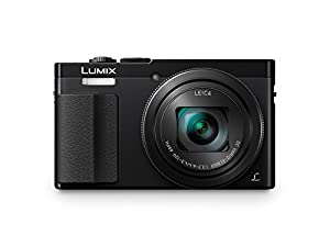 Panasonic DMC-ZS50K LUMIX 30X Travel Zoom Camera with Eye Viewfinder (Black)