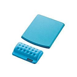 Elecom MP-114BU Comfy Mousepad with Separate Wrist Rest (Blue)