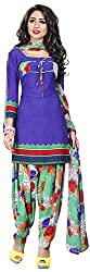 Offo*com Women's Synthetic Dress Material (1059)