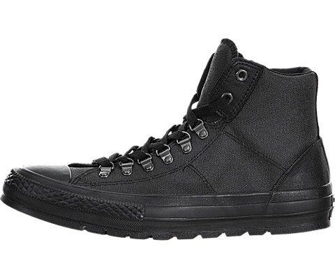 Converse Men's Chuck Taylor All Star High Top Street Hiker Black/Black/Black 8 M