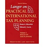 img - for [(Langer on Practical International Tax Planning )] [Author: Marshall J. Langer] [Nov-2004] book / textbook / text book