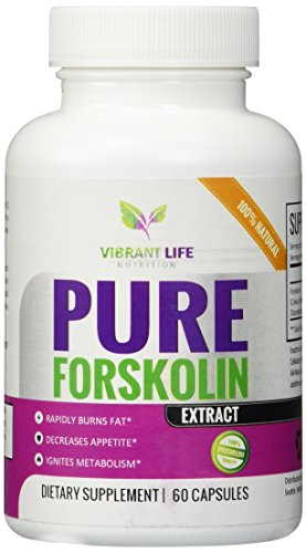 Forskolin - Pure Forskolin Extract - Weight Loss Pills - Belly Buster - Slims + Tones - Suppresses Appetite - Ignites Metabolism - 100% All-Natural Zero Fillers or Additives