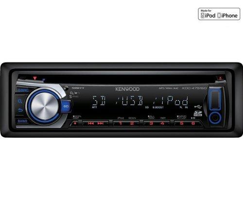 KENWOOD Autoradio CD/MP3 USB/SD/iPod KDC-4751SD