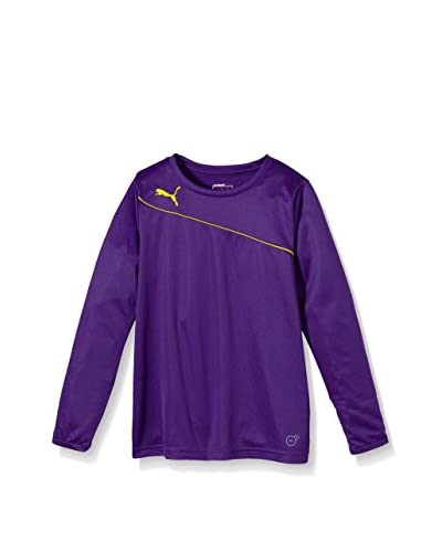 Puma Camiseta Manga Larga Violeta