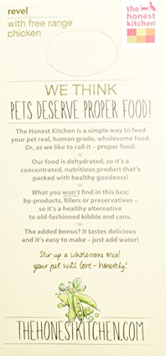 The Honest Kitchen Revel Chicken and Whole Grain Dog Food, 10-Pound_Image4