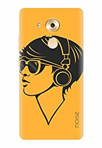 Noise Make Some Noise-Yellow Printed Cover for Huawei Mate 8