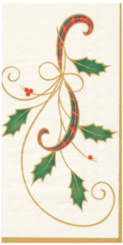 Lenox Holiday Nouveau 40-Count 3-Ply Beverage Napkins