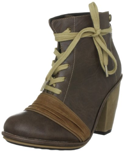 Feud London Women's Siesta Cognac Ankle Boot 203451027 6 UK